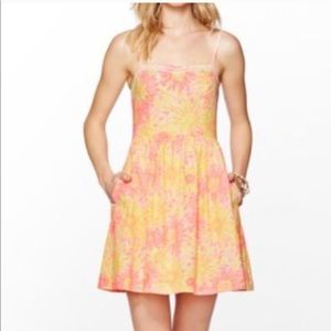 Lilly Pulitzer Pink Floral Bethany Dress
